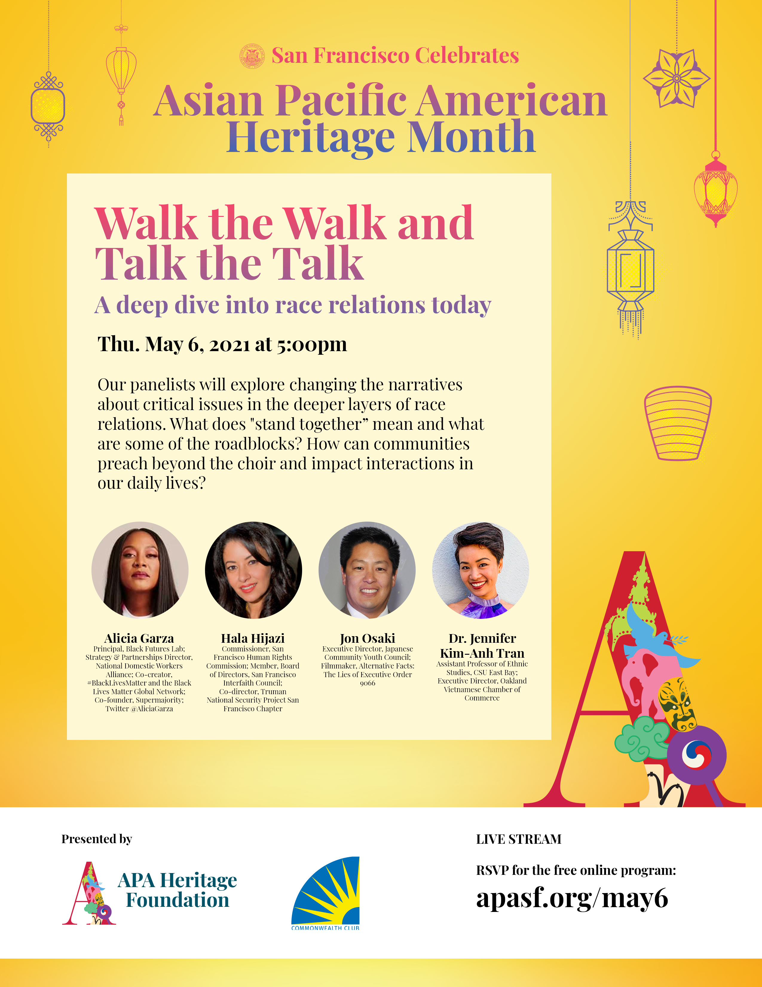 WALK THE WALK AND TALK THE TALK: A DEEP DIVE INTO RACE RELATIONS