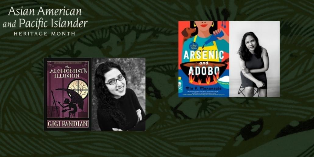 Author: Mia P. Manansala and Gigi Pandian in conversation