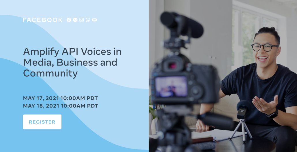 Facebook: Amplify API Voices in Media, Business and Community